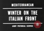 Image of snow covered area Italy, 1944, second 7 stock footage video 65675057850