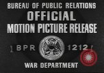 Image of 35th Infantry Division Europe, 1945, second 4 stock footage video 65675057871