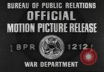 Image of 35th Infantry Division Europe, 1945, second 5 stock footage video 65675057871