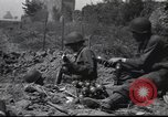 Image of United States Army fighting in streets Saint Malo France, 1944, second 6 stock footage video 65675057874