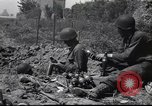 Image of United States Army fighting in streets Saint Malo France, 1944, second 7 stock footage video 65675057874
