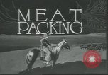 Image of meat packing United States USA, 1922, second 6 stock footage video 65675057876