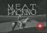 Image of meat packing United States USA, 1922, second 7 stock footage video 65675057876