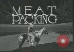 Image of meat packing United States USA, 1922, second 8 stock footage video 65675057876
