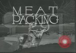 Image of meat packing United States USA, 1922, second 9 stock footage video 65675057876