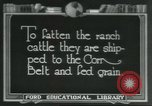 Image of meat packing industry Chicago Illinois USA, 1922, second 1 stock footage video 65675057877