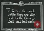 Image of meat packing industry Chicago Illinois USA, 1922, second 2 stock footage video 65675057877