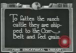 Image of meat packing industry Chicago Illinois USA, 1922, second 4 stock footage video 65675057877