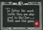 Image of meat packing industry Chicago Illinois USA, 1922, second 5 stock footage video 65675057877