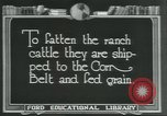 Image of meat packing industry Chicago Illinois USA, 1922, second 8 stock footage video 65675057877