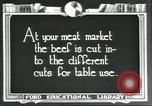 Image of meat packing industry United States USA, 1922, second 2 stock footage video 65675057879