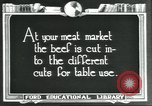 Image of meat packing industry United States USA, 1922, second 3 stock footage video 65675057879