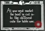 Image of meat packing industry United States USA, 1922, second 4 stock footage video 65675057879