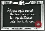 Image of meat packing industry United States USA, 1922, second 7 stock footage video 65675057879