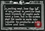 Image of meat packing industry United States USA, 1922, second 2 stock footage video 65675057880