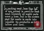 Image of meat packing industry United States USA, 1922, second 6 stock footage video 65675057880