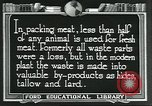 Image of meat packing industry United States USA, 1922, second 8 stock footage video 65675057880
