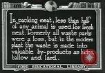 Image of meat packing industry United States USA, 1922, second 9 stock footage video 65675057880