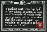 Image of meat packing industry United States USA, 1922, second 11 stock footage video 65675057880