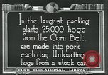 Image of meat packing industry United States USA, 1922, second 6 stock footage video 65675057881