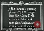 Image of meat packing industry United States USA, 1922, second 9 stock footage video 65675057881