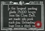 Image of meat packing industry United States USA, 1922, second 11 stock footage video 65675057881
