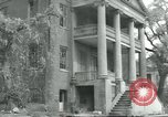 Image of damaged buildings Natchez Mississippi USA, 1939, second 1 stock footage video 65675057886
