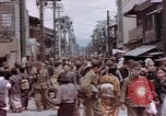 Image of Japanese people Kyoto Japan, 1945, second 10 stock footage video 65675057891