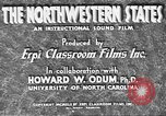 Image of map United States USA, 1942, second 12 stock footage video 65675057902