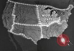 Image of animated maps Midwest United States USA, 1942, second 3 stock footage video 65675057909