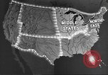 Image of animated maps Midwest United States USA, 1942, second 4 stock footage video 65675057909