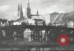 Image of damaged buildings Lubeck Germany, 1942, second 3 stock footage video 65675057943