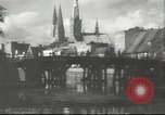 Image of damaged buildings Lubeck Germany, 1942, second 5 stock footage video 65675057943