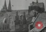 Image of damaged buildings Lubeck Germany, 1942, second 6 stock footage video 65675057943