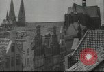 Image of damaged buildings Lubeck Germany, 1942, second 7 stock footage video 65675057943