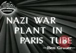 Image of German industries Paris France, 1945, second 4 stock footage video 65675057949