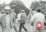 Image of Mexican American orange pickers Farmersville California USA, 1968, second 5 stock footage video 65675058040