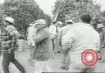 Image of Mexican American orange pickers Farmersville California USA, 1968, second 6 stock footage video 65675058040