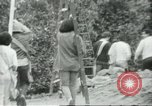 Image of Mexican American orange pickers Farmersville California USA, 1968, second 8 stock footage video 65675058041