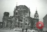 Image of Berliner Sportspalast and city in ruins end World War II Berlin Germany, 1945, second 6 stock footage video 65675058047