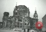 Image of Berliner Sportspalast and city in ruins end World War II Berlin Germany, 1945, second 7 stock footage video 65675058047