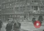 Image of Berliner Sportspalast and city in ruins end World War II Berlin Germany, 1945, second 11 stock footage video 65675058047