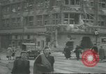 Image of Berliner Sportspalast and city in ruins end World War II Berlin Germany, 1945, second 12 stock footage video 65675058047