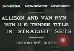 Image of Open Men's Doubles Brookline Massachusetts USA, 1931, second 10 stock footage video 65675058049