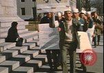 Image of demonstrations Washington DC USA, 1969, second 8 stock footage video 65675058087