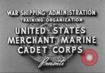 Image of Merchant Marine Cadet Corps United States USA, 1942, second 8 stock footage video 65675058094
