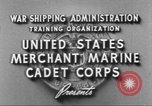 Image of Merchant Marine Cadet Corps United States USA, 1942, second 9 stock footage video 65675058094