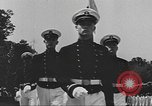 Image of Merchant Marine Officer candidates Kings Point New York USA, 1942, second 6 stock footage video 65675058105