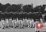 Image of Merchant Marine Officer candidates Kings Point New York USA, 1942, second 10 stock footage video 65675058105