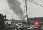 Image of Fighting fires at seaports United States USA, 1944, second 9 stock footage video 65675058108